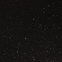Black Sparkle Gloss Effect Laminate Kitchen Worktops - Andromeda (Worktop Edging Strip - 1530mm x 45mm)