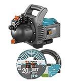 GARDENA Kit pompe d'arrosage de surface 3500/4 Classic: pompe d'arrosage avec...
