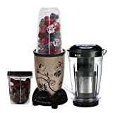 Wonderchef Nutri-Blend 63152590 400-Watt Blender with Juicer Attachment (Champagne)