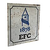 Everton FC Official Football Gift Retro Logo Sign - A Great Christmas / Birthday Gift Idea For Men And Boys