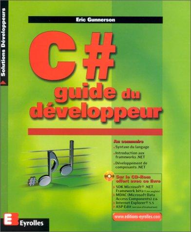 C# Guide du développeur