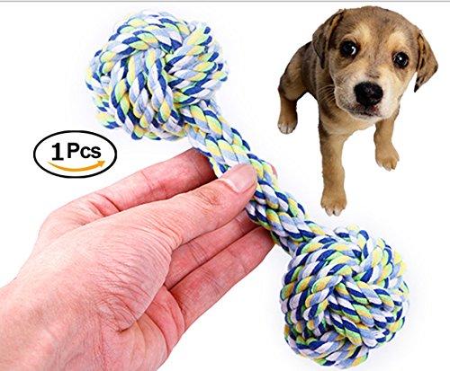 Spielzeug, Geflochten Langlebig Pet Seil Welpen Spielzeug Baumwolle Zahnreinigung Seil Spielzeug Qualitativ Hochwertige Baumwolle Fasern Farbige Spielzeug 1PC (G) (Ente Fuchs-maske)