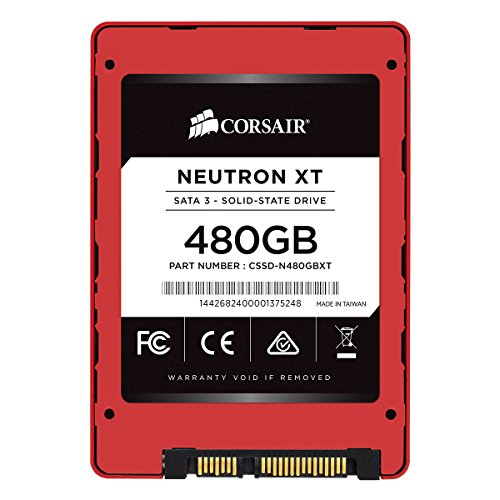 Corsair Disco allo Stato Solido Ultra High Performance Neutron XT 480 GB SATA 3 6GBps Phison A19mm MLC NAND