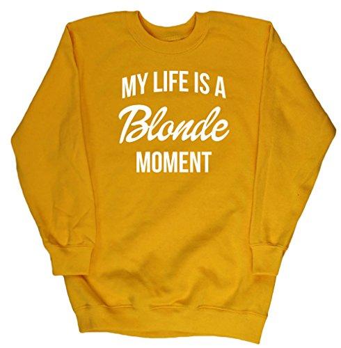 HippoWarehouse Mädchen Sweatshirt Gr. 11 Jahre, sonnenblume (Baumwolle Browning Sweatshirt)