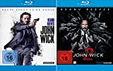 John Wick 1 + Kapitel 2 im Set - Deutsche Originalware [2 Blu-rays]