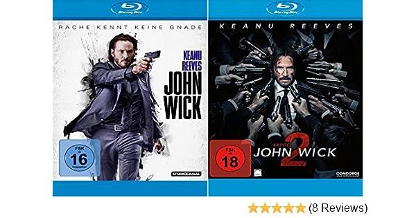 John Wick 12 Blu Ray Set Teil 12kapitel 12 Amazonde Keanu