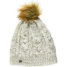 Buff Mujer Knitted y polar tiene Darla Gorro, CRU, One size