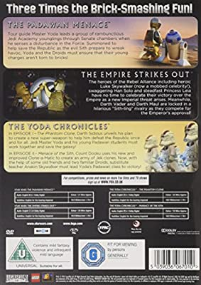 Star Wars Lego - Padawan Menace/The Empire Strikes out/The Yoda Chronicles [DVD] : everything £5 (or less!)