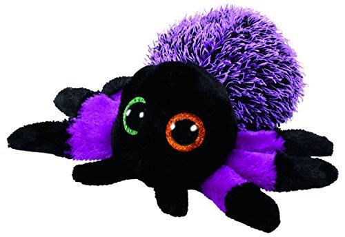 """TY 37248 """"Creeper - Spinne Plüsch, 15 cm, schwarz/violett"""