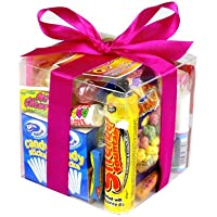 Retro Sweets Cube - The Perfect Gift For Christmas, Secret Santa Or Stocking Filler Retro 80's Sweets