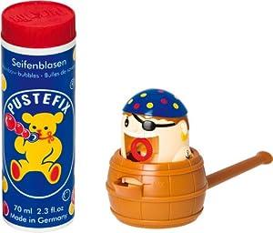 Pustefix - Pirata, juego para hacer pompas de jabón 70 ml (Carrera 420869495)