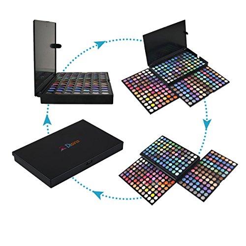 DISINO Eye Shadow Makeup Palette,252 Color Eyeshadow Palette Eye Shadow Makeup Kit Set Make Up Professional Box