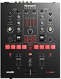 Numark Scratch - Zweikanal DJ Scratch Mixer für Serato DJ Pro (im Lieferumfang enthalten) Mit Innofader Crossfader, DVS-Lizenz, 6 Direktzugriffseffektwählern, Performance-Pads und 24-Bit-Klangqualität