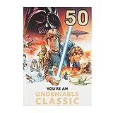 Hallmark Star Wars 50. Geburtstag Karte
