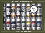 Vallejo 070143 Farbset, Imperialistisches Rom, 16 x 17 ml