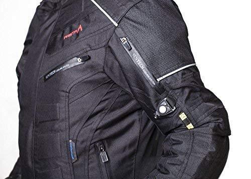 Azul, M MBSmoto MJ22 Max Motocicleta Motocicleta Corta Textile Touring Jacket