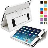iPad mini & mini Retina Hülle (Weiß), SnuggTM - Smart Case mit lebenslanger Garantie + Sleep / Wake Funktion
