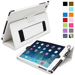 Snugg (TM) - Étui Pour iPad Mini & Mini 2 - Smart Case Avec Support Pied Et Une Garantie à Vie (En Cuir Blanc) Pour Apple iPad Mini & Mini 2