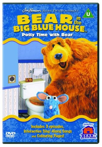Bear In The Big Blue House: Potty Time With Bear [DVD]