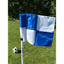 OTTOPT Set of four collapsible corner flags, with carry bag