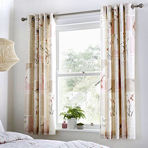 Dreams and drapes dionne tende, 52% poliestere, 48% in cotone, natural, 66
