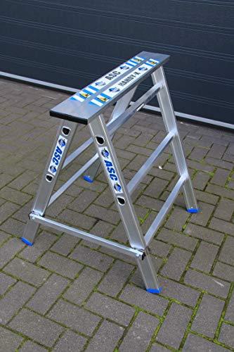 ALUMEXX X-HANDY Arbeitsbock Aluminium Gerüstbock Unterstellbock Klappbock Stützbock NEU
