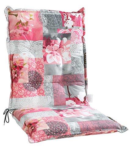 Sesselauflage Sitzpolster Gartenstuhlauflage für Mittellehner COREY 5 | B 50 cm x L 110 cm |...