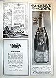 Drucken Sie Allwetter- Reifen Goodyear Bulmer Champagne-Apfelwein-Anzeigen 1916 139T145