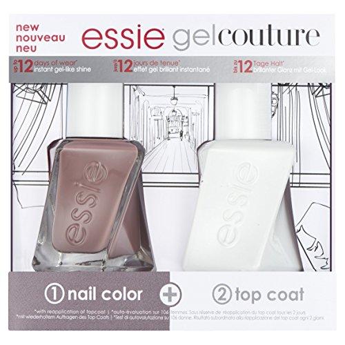 Essie Essie Nail Polish Gel Couture Sommer Nudes Duo Kit Geschenk-Set für Ihre X (Essie Nagellack-top Coat)