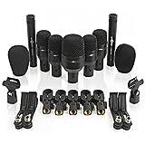7-teiliges Drum-Mikrofon-Set mit Tragetasche von Gear4music