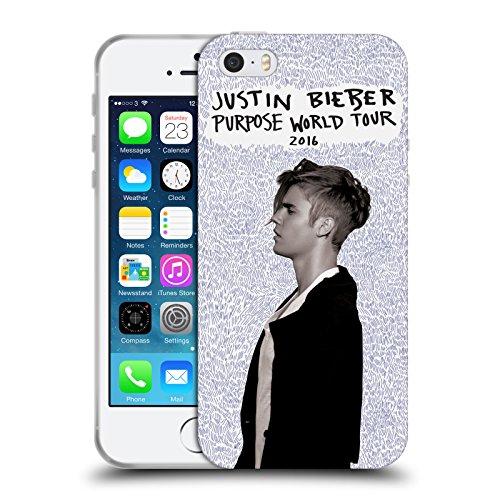 Offizielle Justin Bieber Albumcover Purpose Soft Gel Hülle für Apple iPhone 6 / 6s World Tour 2016