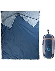 Lixada Sobres Camping Bolsa De Dormir Viaje Senderismo Multifuncion Ultra Claro Azul Oscuro