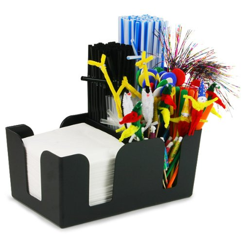 Bar Caddy Classic | bar@drinkstuff plastica Bar Caddy Nero ,