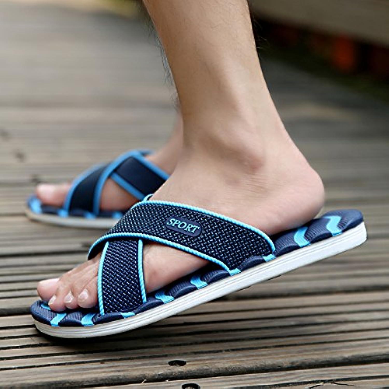 Pantofole 41 asolato pantofole ciabatte rimanere fresco 41 Pantofole blu scuro  Parent 9f47c5