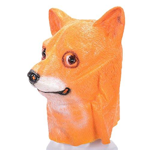 Watopi - Maschera in Lattice per Cani di Halloween, per Adulti, Unisex, Taglia Unica, per Carnevale, Ballo A