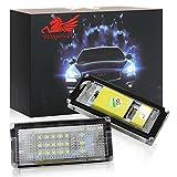 Win Power Fehlerfrei LED Kennzeichenbeleuchtung weiß Lampen Birne