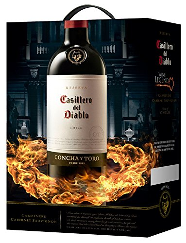 Casillero del Diablo Carmenere 13,5{a382f1cf905758b2339984b2c610ebfb2a5914a253c78554518e705317c46d01} 3,0L BiB Rotwein (Chile)