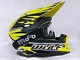 Caschi Moto - WULFSPORT ADVANCE Adulto Casco Motocross, off-road Quad Scooter Casco Cross Enduro con...