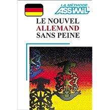 Le Nouvel Allemand sans peine (1 livre + coffret de 4 cassettes)
