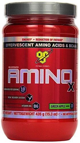BSN Amino X (BCAA Puler), Green Apple, 1er Pack (1 x 435g)