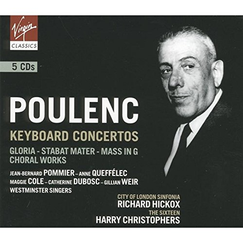 Poulenc : Concertos / Oeuvres religieuses (Coffret 5 CD)