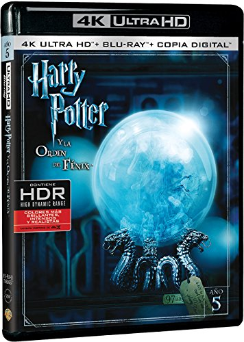 Harry Potter Y La Orden Del Fénix (4K Ultra HD + Blu-ray + Copia Digital) [Blu-ray]