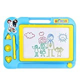 chengyaohaiyu Kinder Magnettafel Schreiben Reißbrett 27,5 x 20 x 2 cm Kinder Magic Board (Color : Blue)
