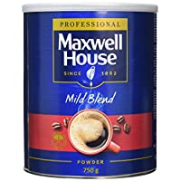 Maxwell House Mild Coffee Powder Tin 750 g (Pack of 1) 25