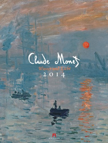 Claude Monet - Wasser und Licht 2014 (Wasser Merkur)