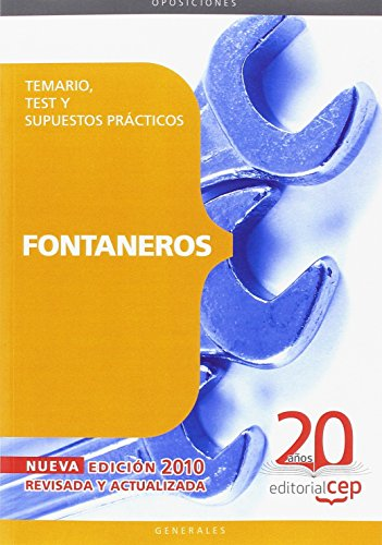 Fontaneros. Temario, Test y Supuestos Prácticos (Colección 111) por Sin datos