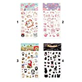CDELEC Cute cat sticker decoration DIY diary scrapbooking stickers for kids and adults