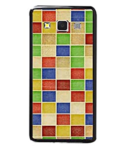 FUSON Designer Back Case Cover for Samsung Galaxy A5 (2015) :: Samsung Galaxy A5 Duos (2015) :: Samsung Galaxy A5 A500F A500Fu A500M A500Y A500Yz A500F1/A500K/A500S A500Fq A500F/Ds A500G/Ds A500H/Ds A500M/Ds A5000 (Seamless Pattern Blue Design Drawing )