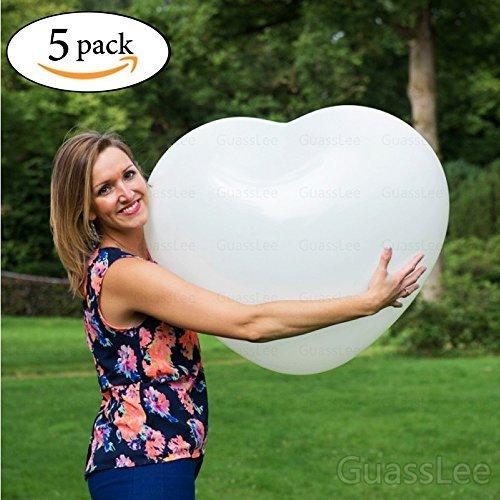 Gigante 36 'globos en forma de corazón gran globo para el partido de cumpleaños de la boda Event Festival Decoración