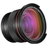 Neewer 52MM 0.35x Pro Macro Fisheye Wide Angle Lens With Macro Close-Up Portion For NIKON DSLR D3300 D3200 D3100 D5500 D5300 D5200 D5100 PENTAX K-30 K-50 K-500 K-5 K-5 II DSLR Cameras